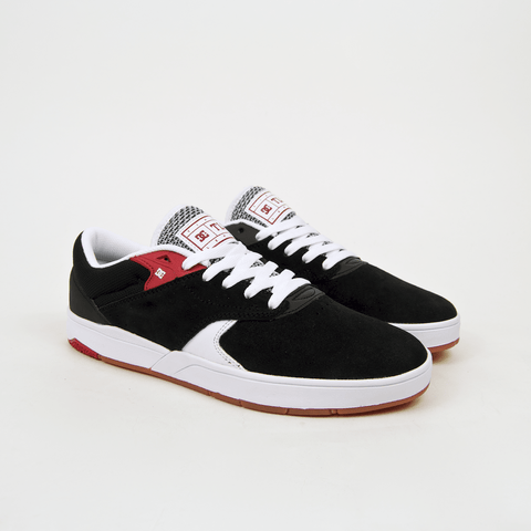 DC Shoes - Tiago S Shoes - Black / White / Red