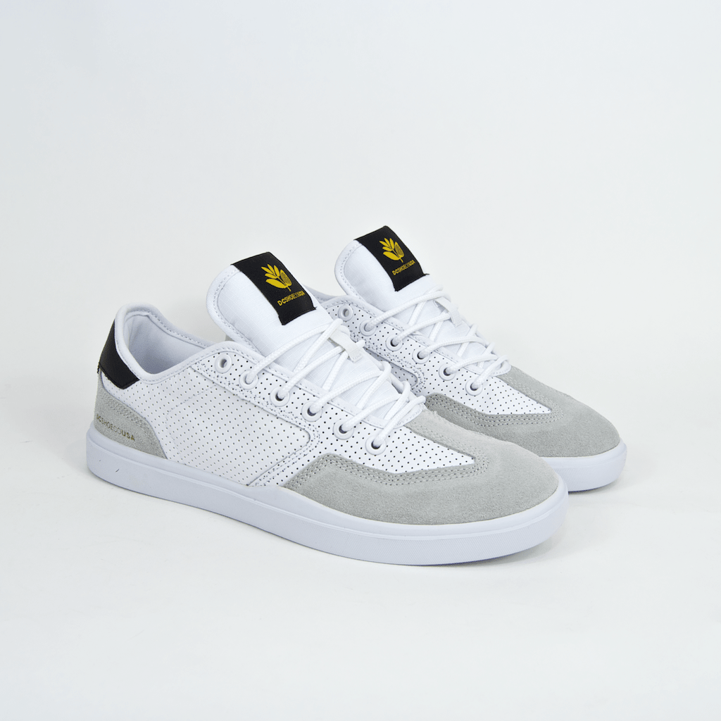 DC Shoes - Vestrey S X Magenta Shoes - White / Grey