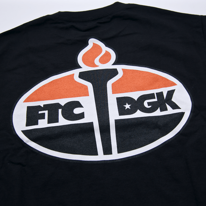 DGK x FTC - Torch Longsleeve T-Shirt - Black