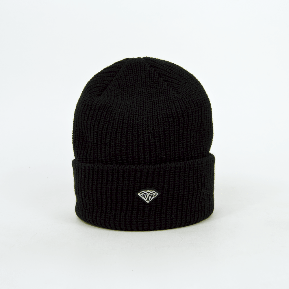 Diamond Supply Co. - Brilliant Patch Beanie - Black