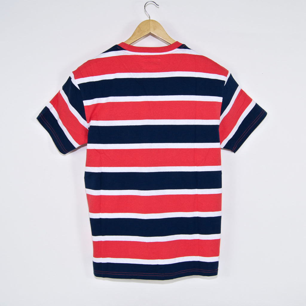 Diamond Supply Co. - Mini OG Script Striped T-Shirt - Coral
