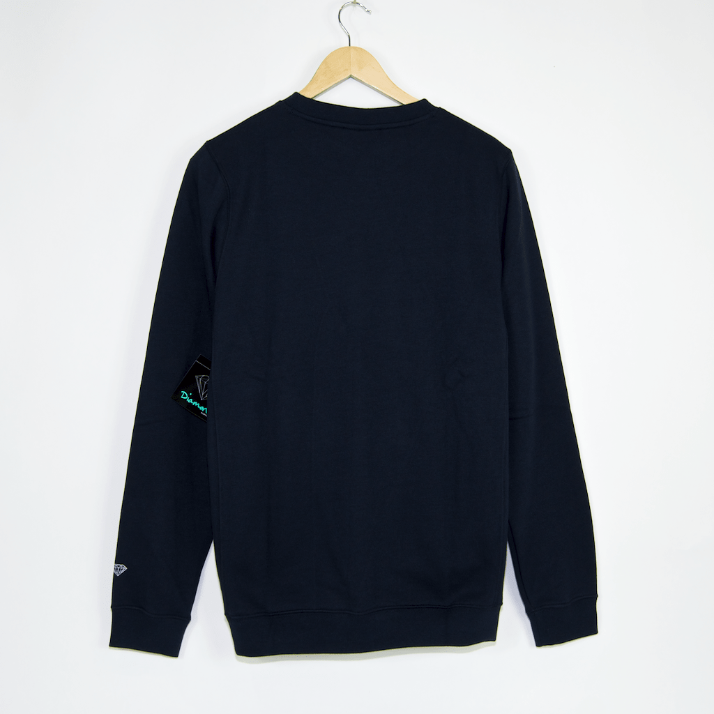Diamond Supply Co. - OG Sign Core Crewneck Sweatshirt - Navy