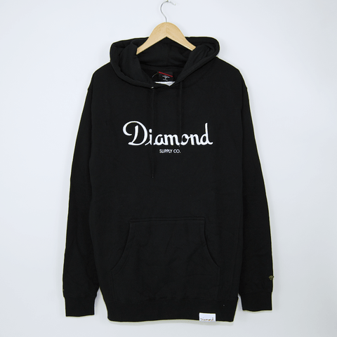 Diamond Supply Co. - Champagne Pullover Hooded Sweatshirt - Black