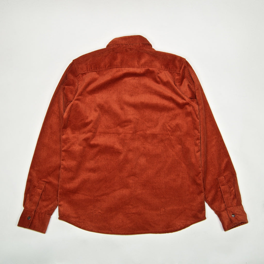 Dickies - Ivel Corduroy Shirt - Rust