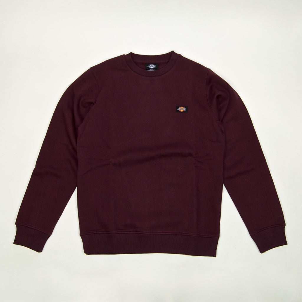 Dickies - New Jersey Crewneck Sweatshirt - Maroon