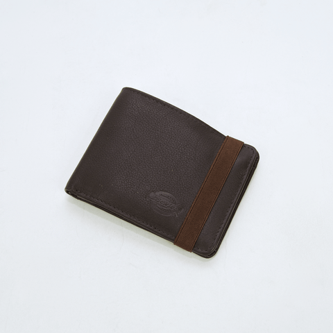 Dickies - Wilburn Wallet - Brown Leather