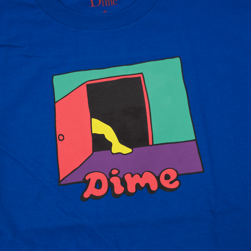 Dime MTL - Entrance T-Shirt - Royal Blue