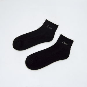 Dime MTL - Logo Ankle Socks - Black
