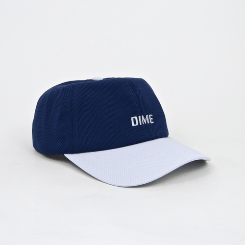 Dime MTL - Mesh Snapback Cap - Navy / Light Grey