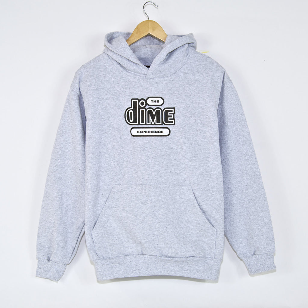 Dime MTL - The Dime Experience Pullover Hooded Sweatshirt - Ash Grey