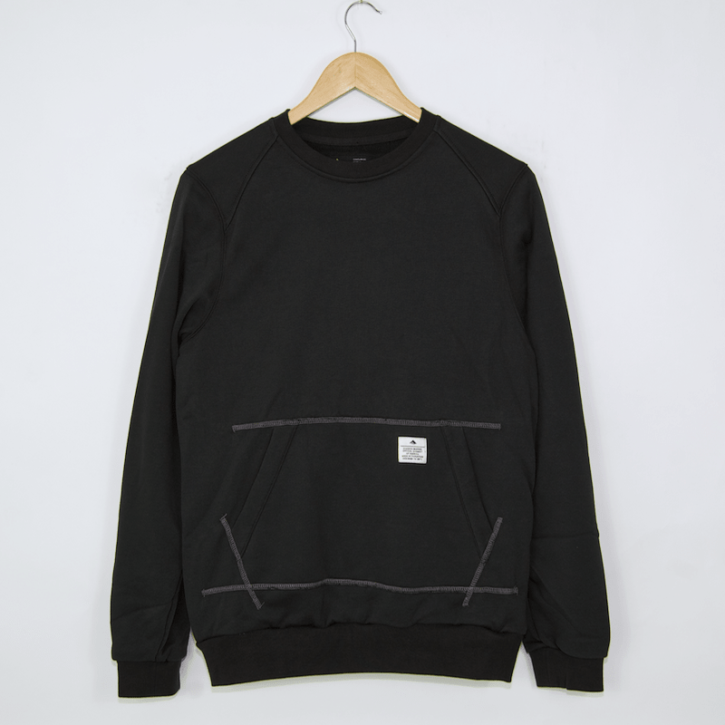 Emerica - Burress Crew Sweatshirt - Black