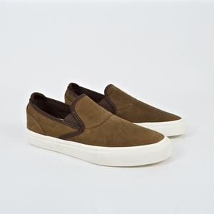 Emerica - Jon Dickson Wino G6 Slip On Shoes - Brown