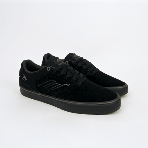 Emerica - Reynolds Low Vulc Shoes - Black / Black / Grey