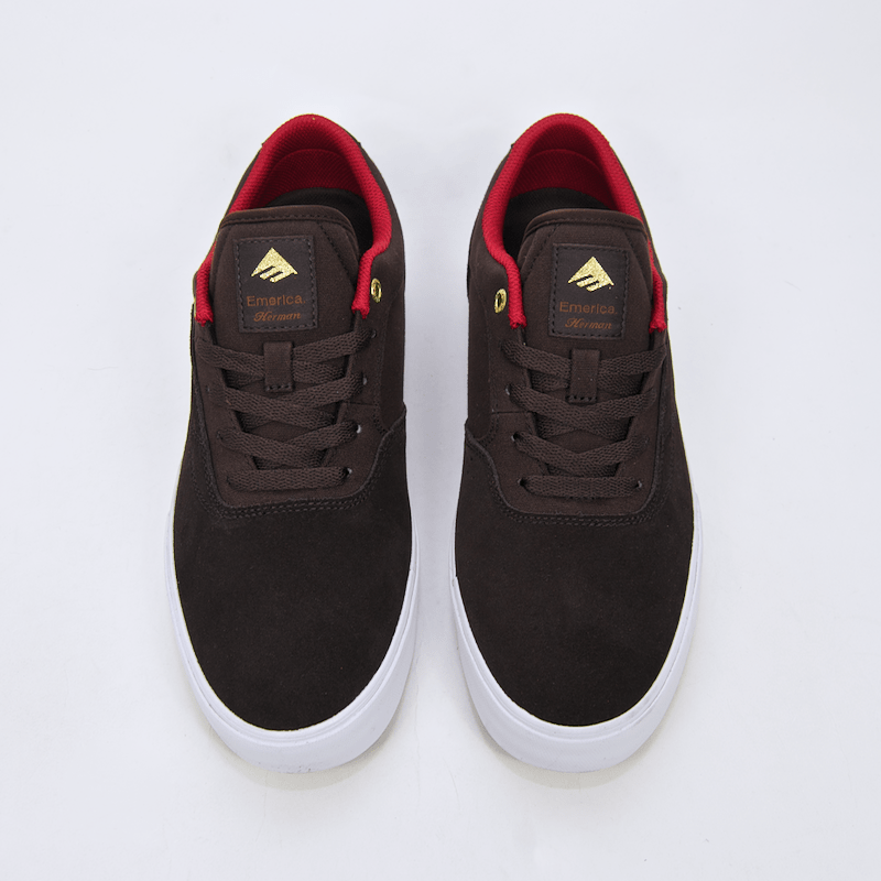 Emerica - The Herman G6 Vulc Shoes - Brown / White