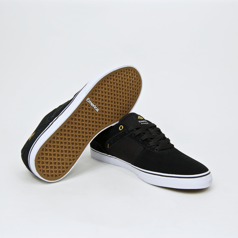 Emerica - The Reynolds Low Vulc Shoes - Black / White