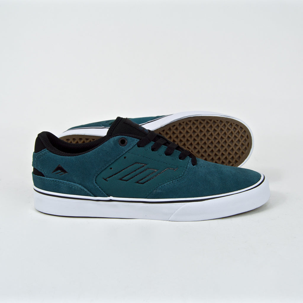 Emerica - The Reynolds Low Vulc Shoes - Teal / Black
