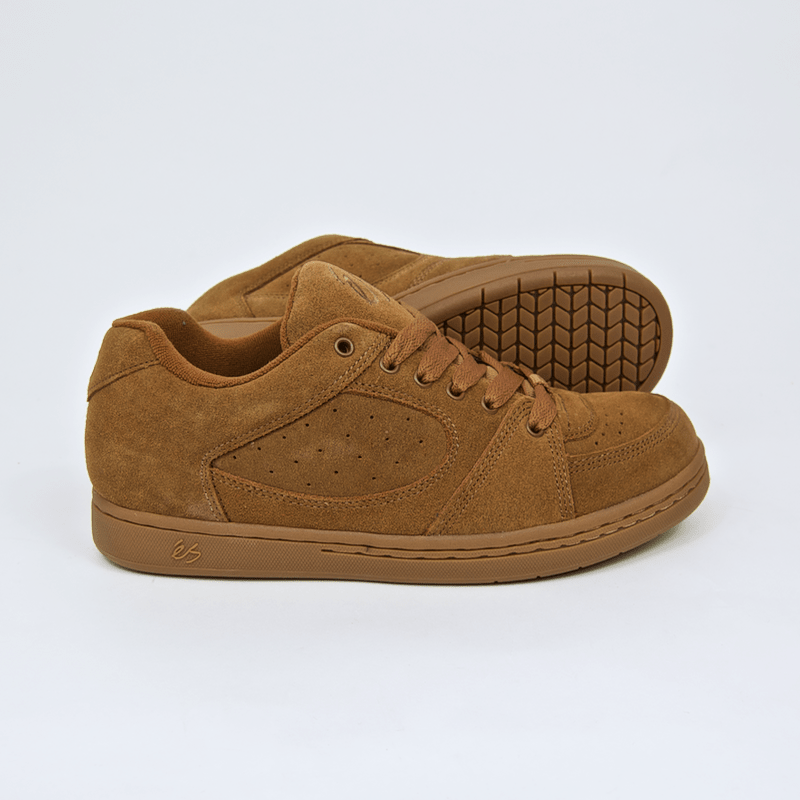 Es Footwear - Accel OG Shoes - Brown / Gum