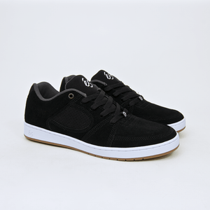 Es Footwear - Accel Slim Shoes - Black / White
