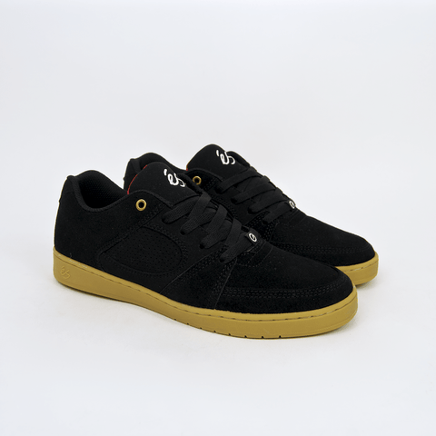 Es Footwear - Accel Slim Shoes - Black / Gum