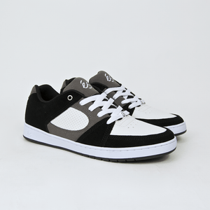 Es Footwear - Accel Slim Shoes - Black / White / Grey