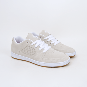 Es Footwear - Accel Slim (Wade Desarmo) Shoes - White / White / Gum
