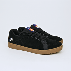 Es Footwear - Sal Shoes - Black / Gum