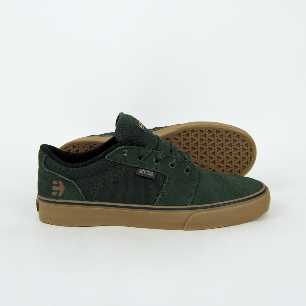 Etnies - Barge LS Shoes - Green / Gum