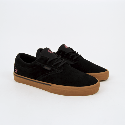 Etnies - Jameson Vulc Shoes - Black / Tan / Red