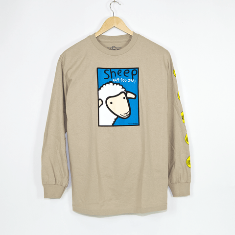 Etnies - Sheep Number Longsleeve T-Shirt - Sand