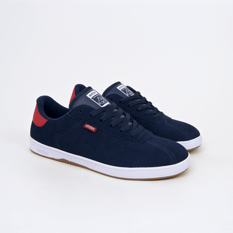 Etnies - The Scam Shoes - Navy / White / Red