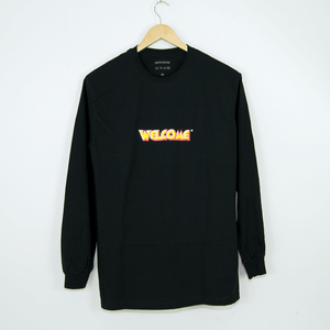 Welcome Skate Store - Fantasy Longsleeve T-Shirt - Black