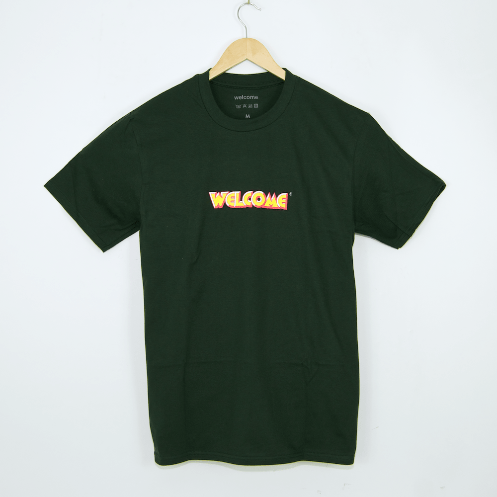 Welcome Skate Store - Fantasy T-Shirt - Forest Green