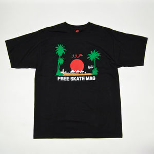 Free Skate Mag - Marrakech T-Shirt - Black