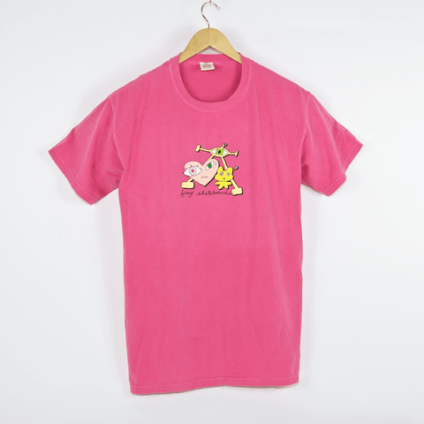 Frog Skateboards - Frog Is Wired* T-Shirt - Pinkberry