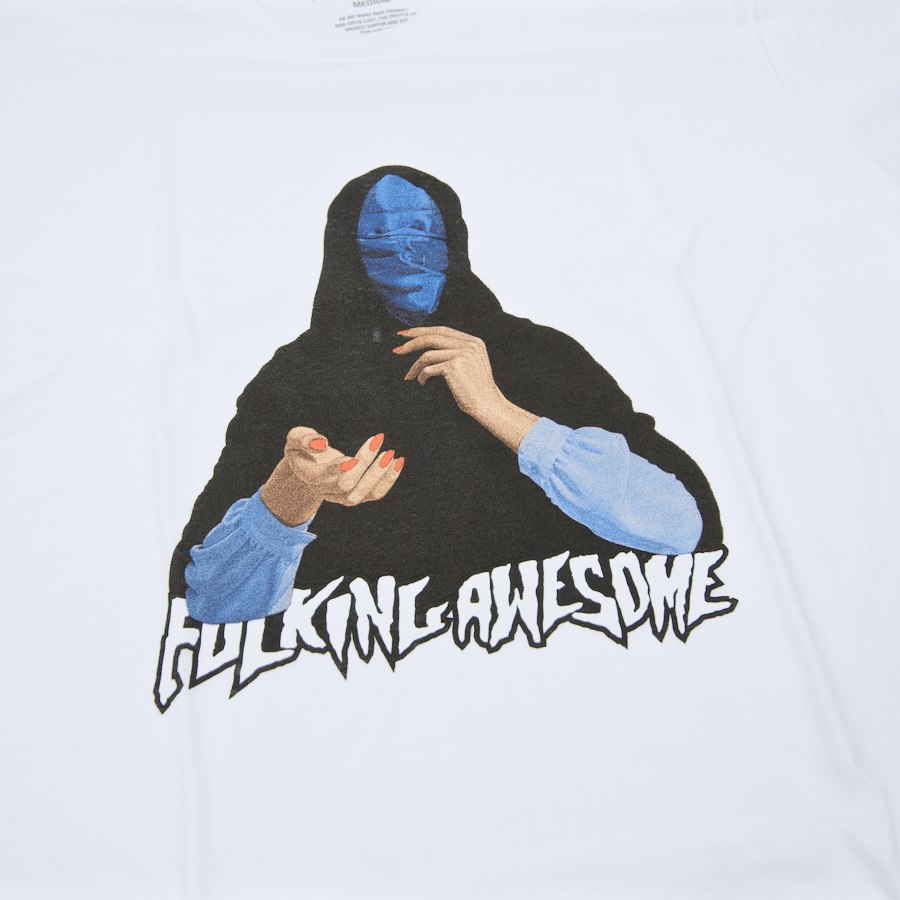 Fucking Awesome - Blue Veil T-Shirt - White