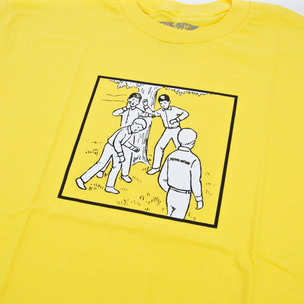 Fucking Awesome - Recess T-Shirt - Daisy Yellow