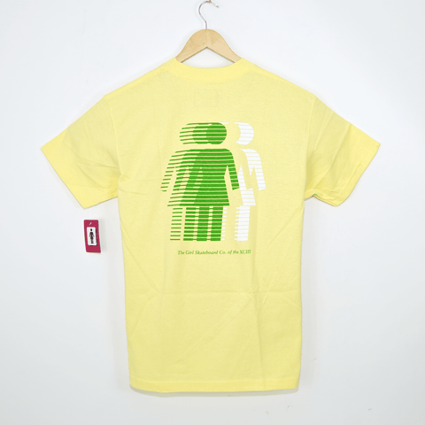 Girl Skateboards - National Hero T-Shirt - Banana Yellow