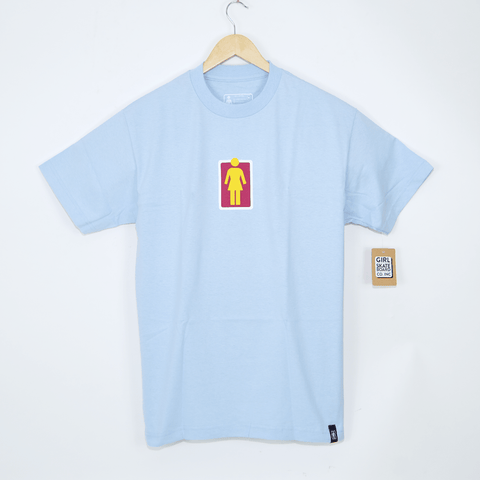 Girl Skateboards - Unboxed T-Shirt - Light Blue