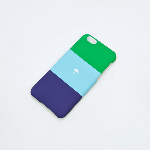 Helas - Booty Calls Trio iPhone 6 Case - Green / Blue / Navy
