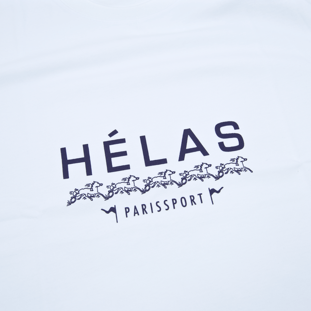 Helas - Paris Sportif T-Shirt - White