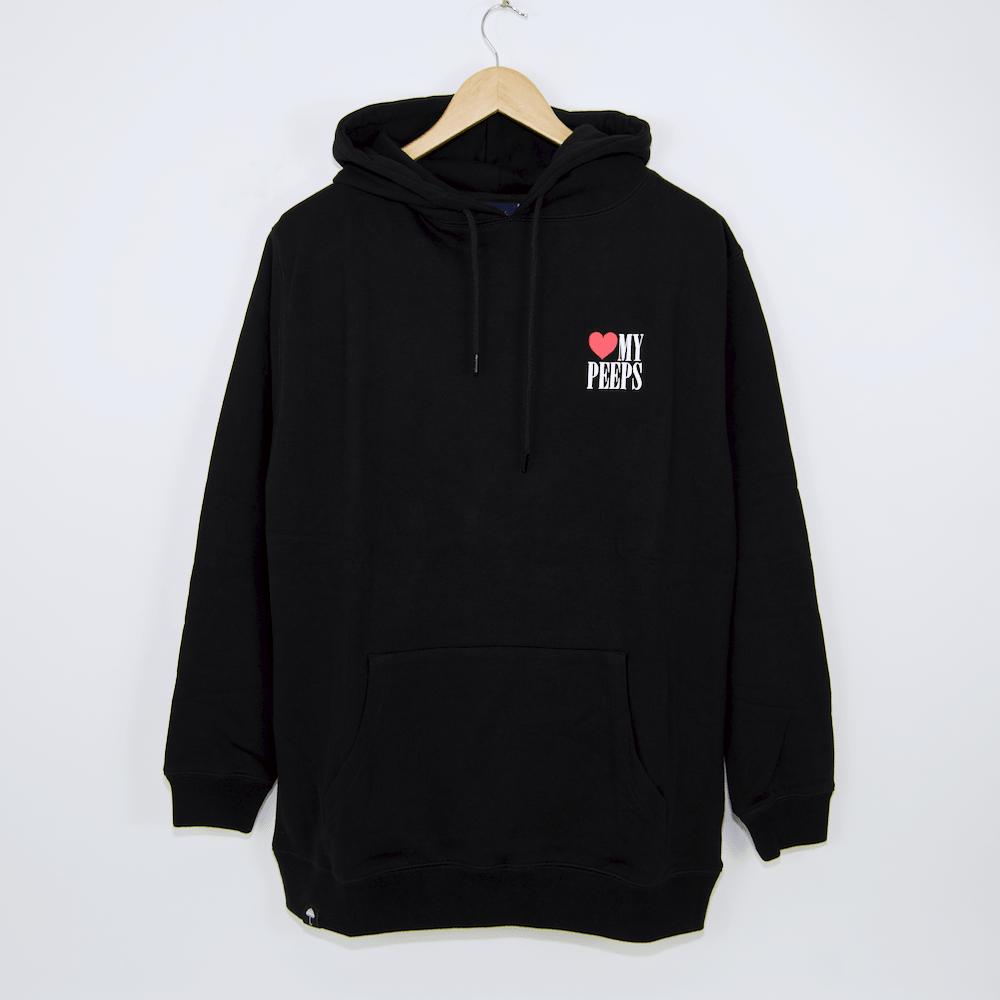 Helas - Peeps Pullover Hooded Sweatshirt - Black