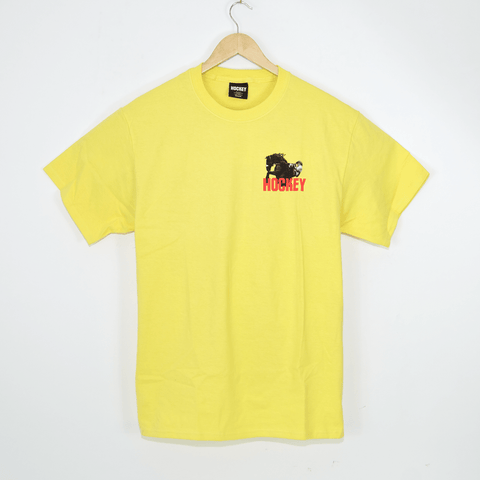 Hockey Skateboards - Rodeo T-Shirt - Yellow