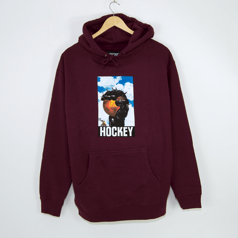 Hockey Skateboards - Spike Pullover Hooded Sweatshirt - Maroon