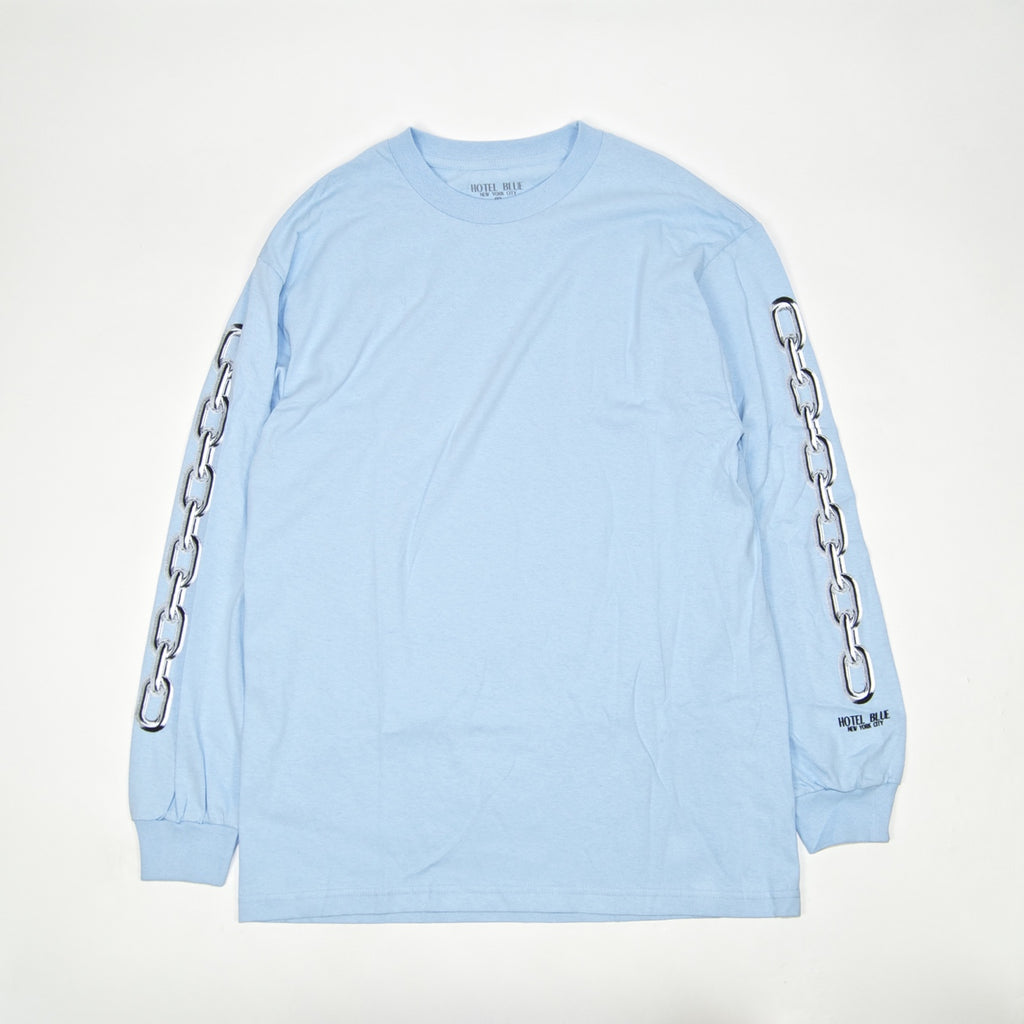 Hotel Blue - Chains Longsleeve T-Shirt - Slate