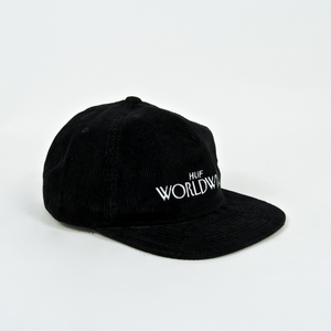 Huf - Archive Strapback Hat - Black