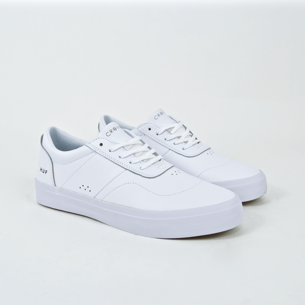 Huf - Cromer 2 Shoes - White / White (Leather)