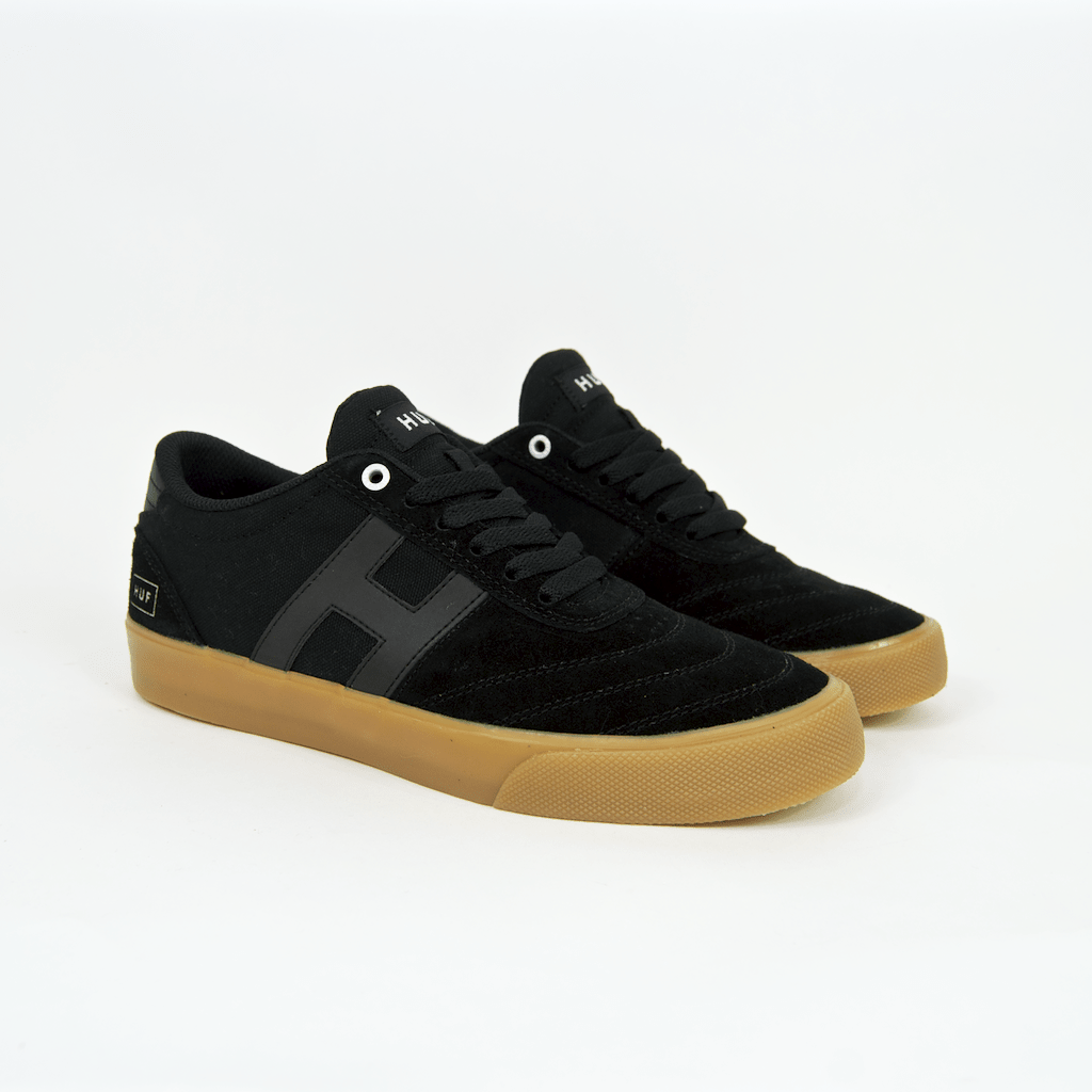 Huf - Galaxy Shoes - Black / Black / Gum