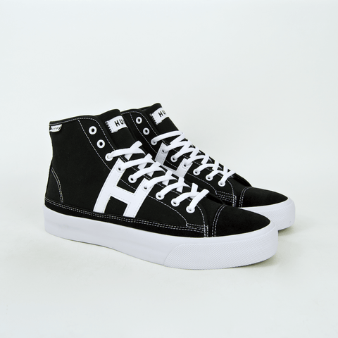 Huf - Hupper 2 Hi Shoes - Black / White