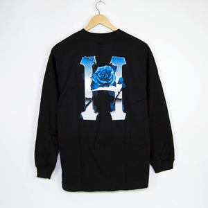 Huf - Ice Rose Longsleeve T-Shirt - Black