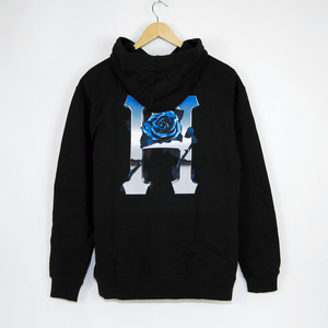 Huf - Ice Rose Pullover Hooded Sweatshirt - Black